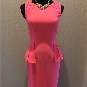 Antonio Melanie peplum dress